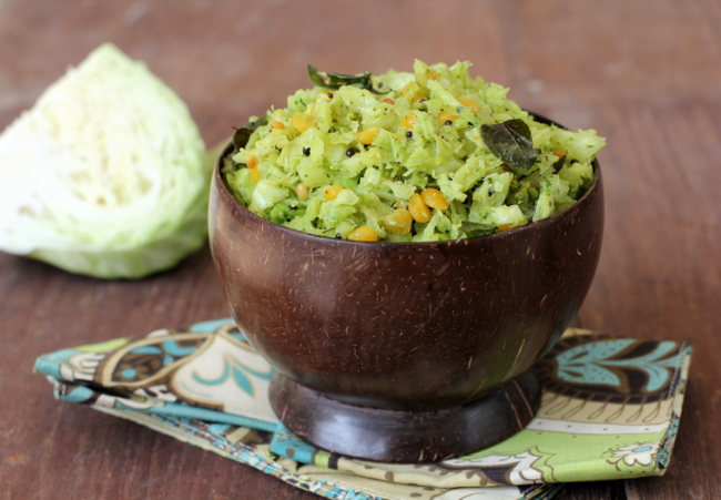 Cabbage fry recipes of andhra veg indian food cabbage fry forumfinder Images
