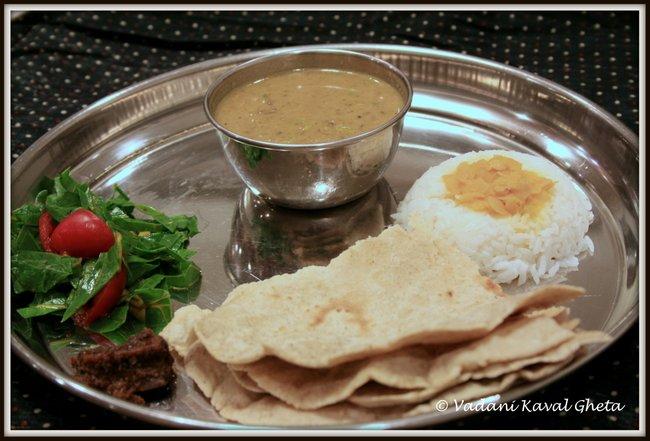 khandeshi lunch thali