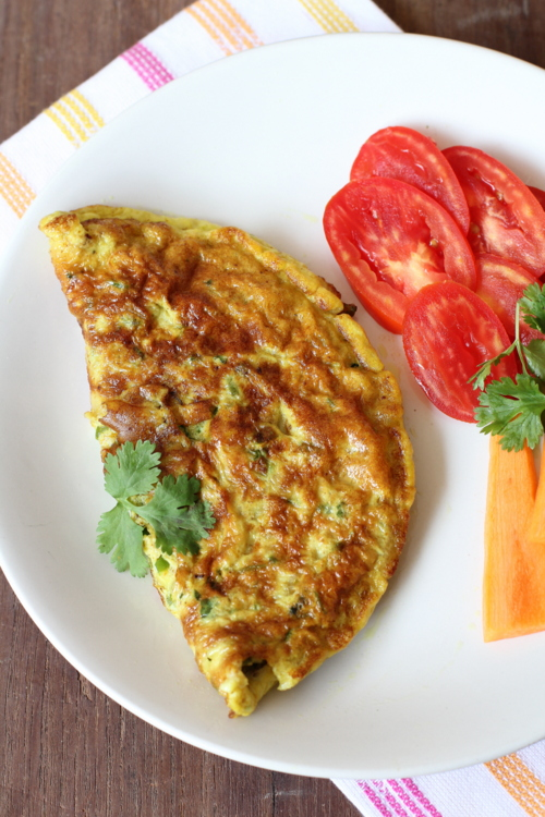 easy omelet breakfast in india