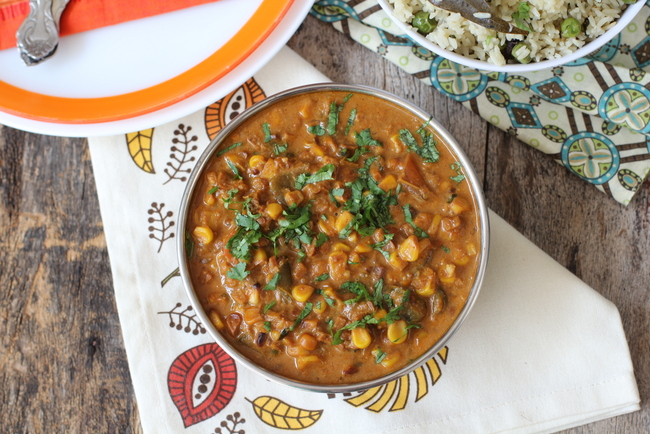 corn-curry