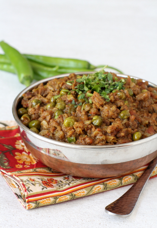 Keema matar mincemeat green peas curry indian non veg recipes keema matar forumfinder Images