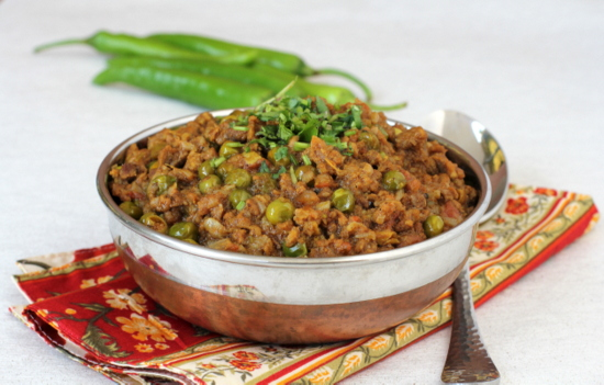 Indian non vegetarian recipes archives indian food recipes food mincemeat peas curry forumfinder Image collections