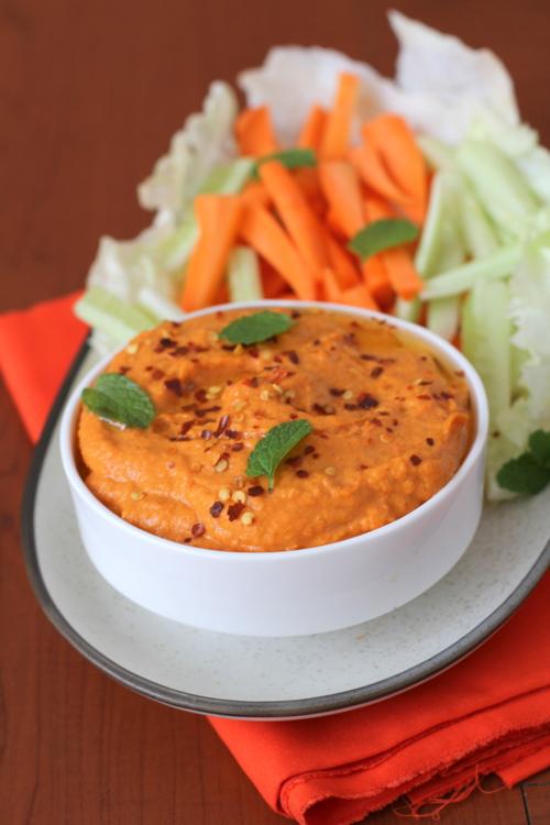 bell pepper hummus recipe