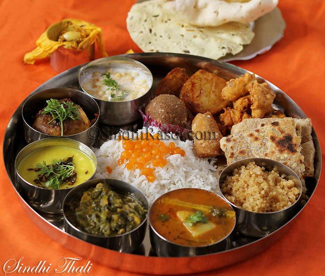 sindhi food thali