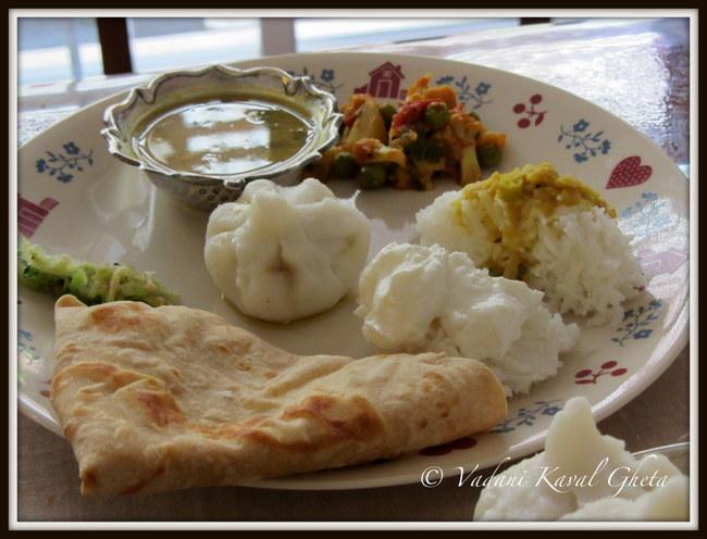 modak thali