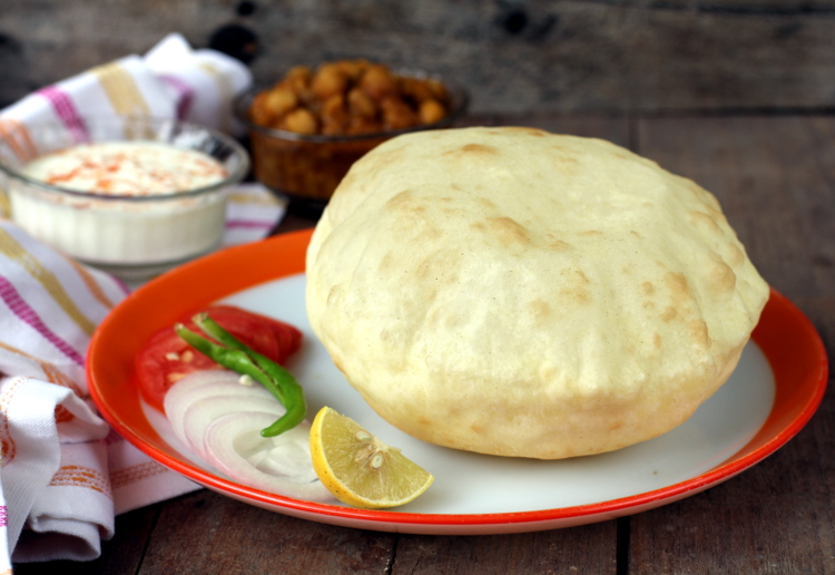Recipe of bhatura easy to make punjabi recipes that are vegetarian tips forumfinder Gallery