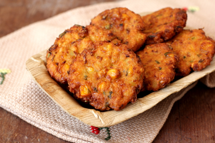 Corn vada andhra style recipe indian corn recipes vegetarian tips forumfinder Images