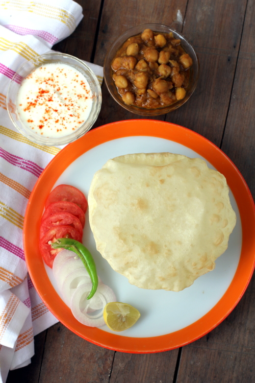 recipe of bhatura