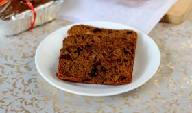 By Sailu Published: December 9, 2013 This Christmas try an ultimate eggless fruit cake. A rich, moist, rum soaked dry fruits laden fruit cake without eggs.