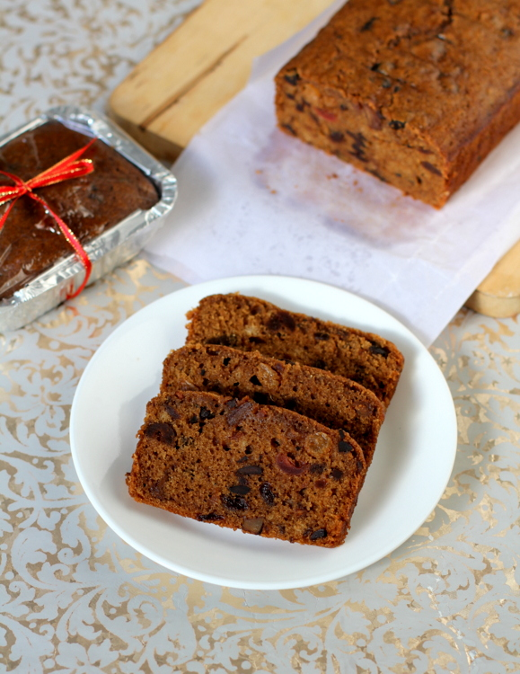 fruit cake without eggs
