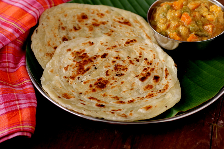 Parotta recipe how to make parotta south indian breakfest recipes tips forumfinder Choice Image
