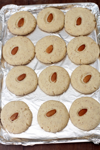 recipe of almond cookies