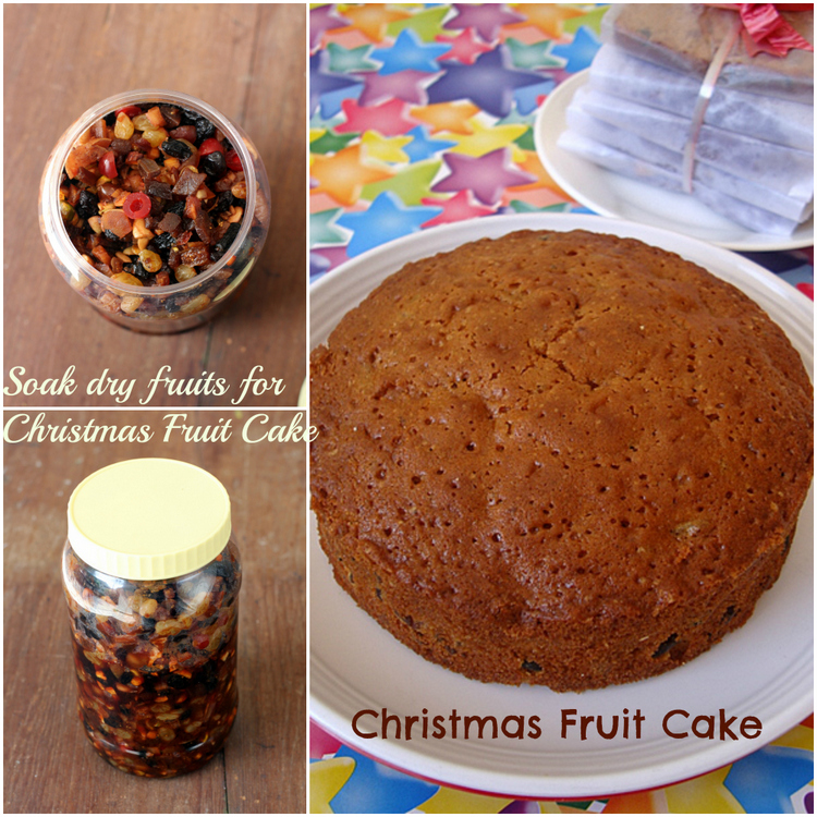 rum soaked dry fruits for fruit cake