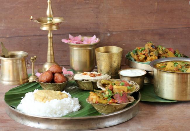 sankranti festival thali