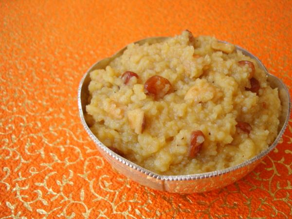 sweet pongali