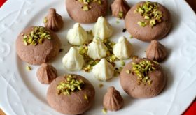 chocolate sandesh