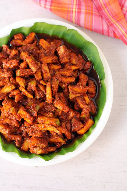 mamidikaya menthi pachadi recipe