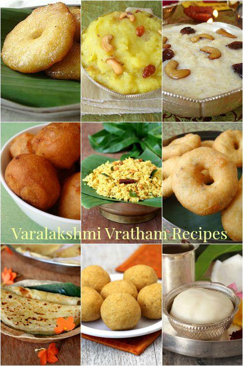 varalakshmi vratham recipes, naivedyam special food items