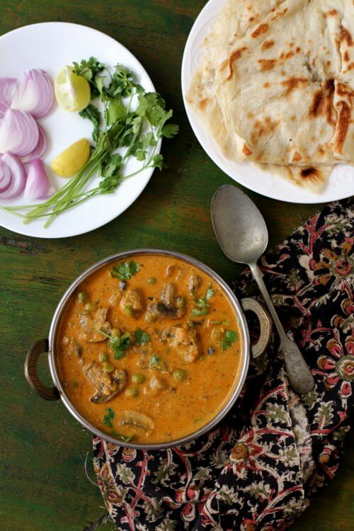Indian curry recipes archives indian food recipes food and matar mushroom recipe forumfinder Gallery