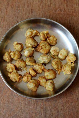mushroom manchurian balls