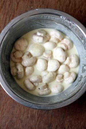 mushroom manchurian batter