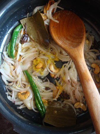 preparation mushroom pulao