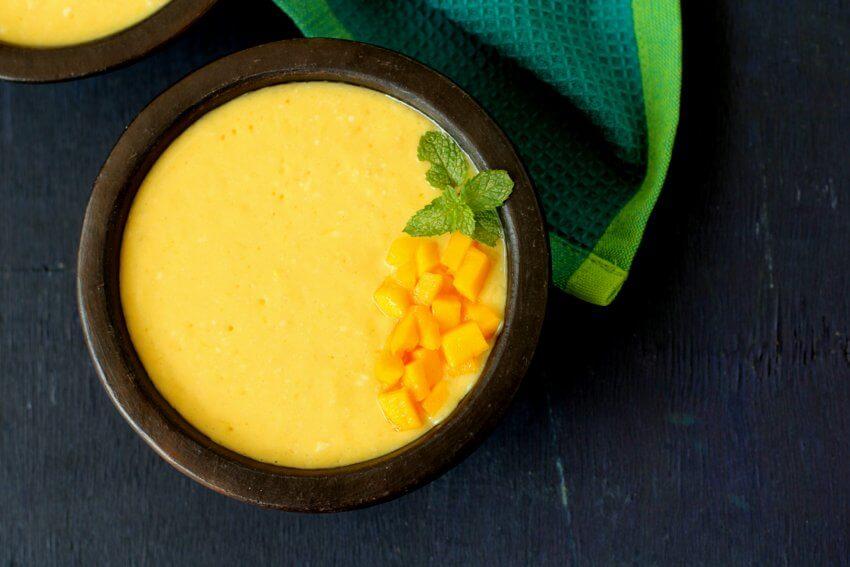 mango pudding agar agar