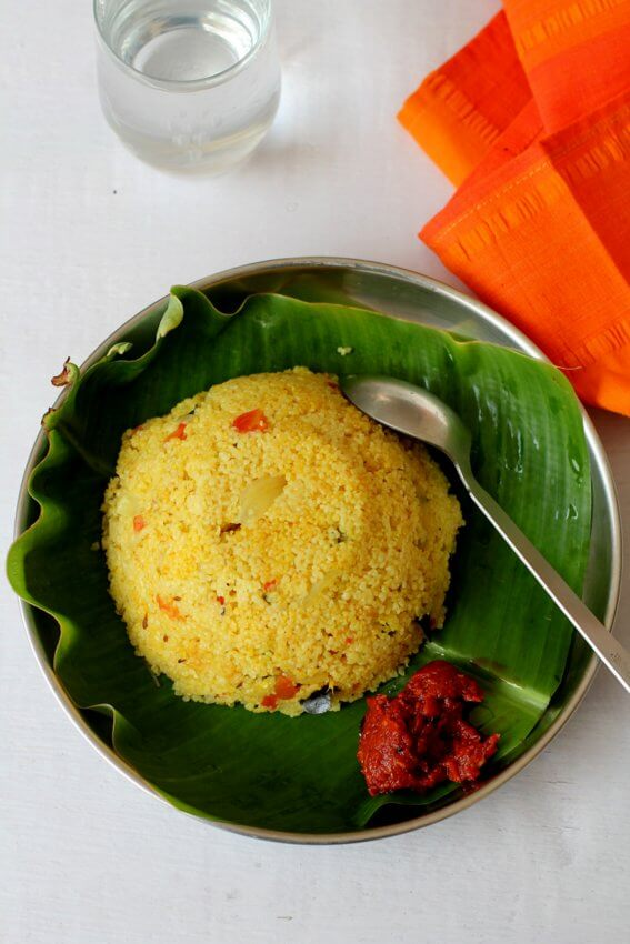 cracked wheat upma recipe