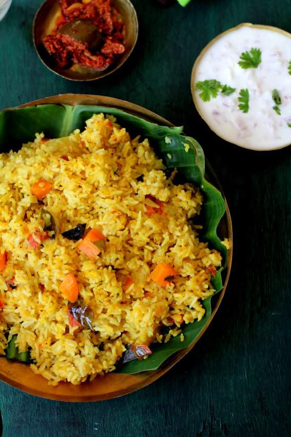 masala vegetable khichdi recipe
