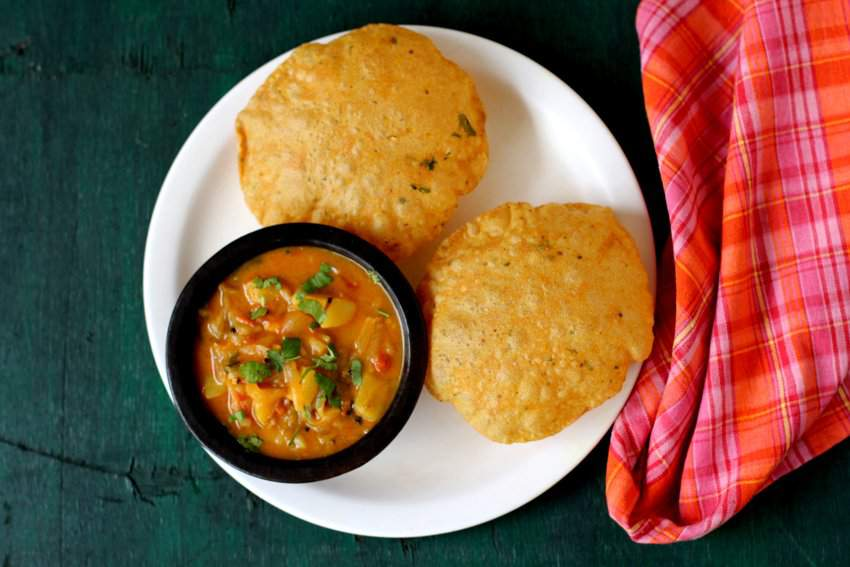 masala poori recipe potato curry