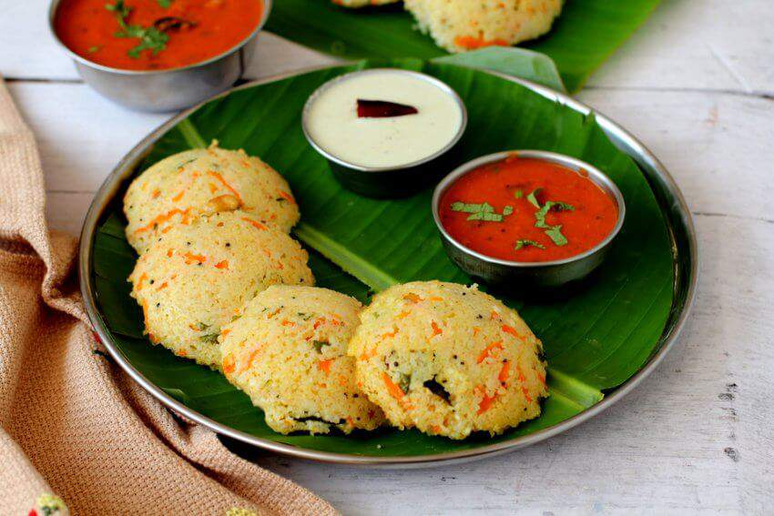 wheat rava idli recipe