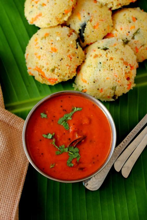 Indian vegetarian recipes archives indian food recipes food thakkali chutney recipe tomato chutney tamil nadu style forumfinder Gallery
