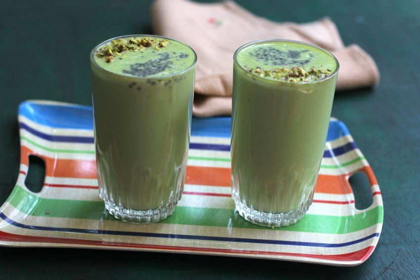avocado banana smoothie for kids