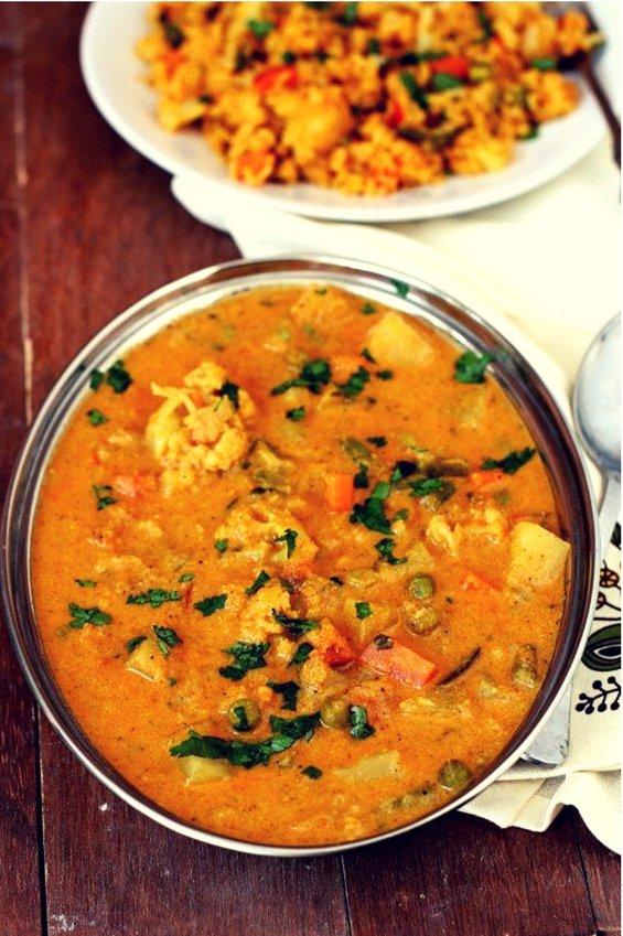 saravana bhavan veg kurma recipe