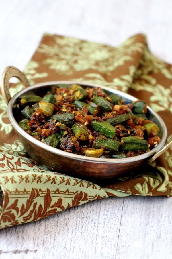 Bhindi Fry Recipe How To Make Bhindi Fry Bhindi Recipes Indian Style Healthy Okra Recipes