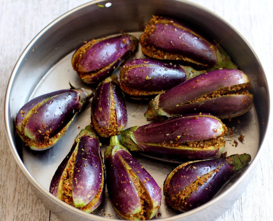 stuffed brinjal fry recipe